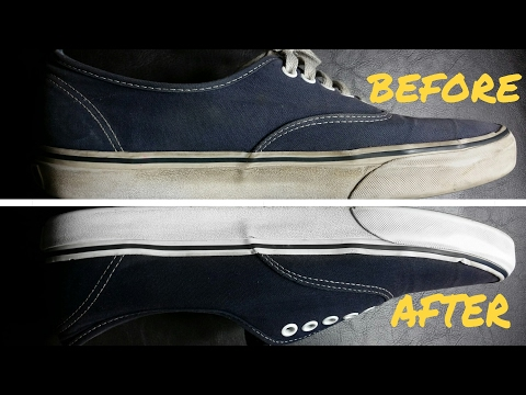 How To Clean Shoes Like Brand New ( NOT CLICKBAIT !!! )