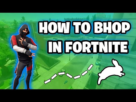 How To BunnyHop in Fortnite