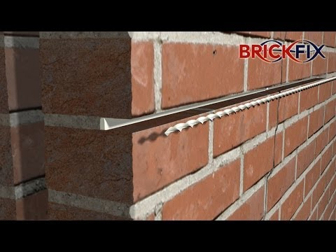 The Brickfix Sching System Offers A Fast And Cost Effective Solution For Repair In Masonry Walls