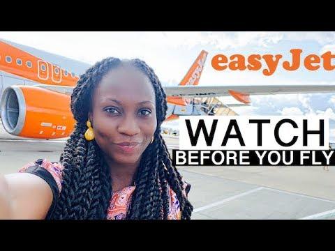 EASYJET ECONOMY FLIGHT REVIEW   MY FIRST TIME FLYING   Sassy Funke