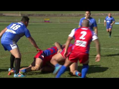 Chile v El Salvador - First Rugby League Test match for Latino nations