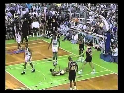 1991 NBA Eastern First Round - Indiana Pacers @ Boston Celtics, Game Five Finish