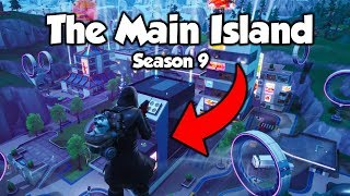*SEASON 9* How To Get To The MAIN ISLAND In Creative With The Phone (Fortnite)