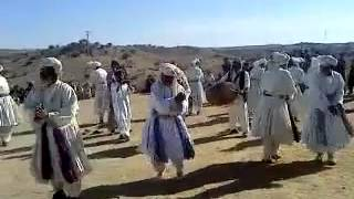 A very old Afghan traditional dance (Attan)