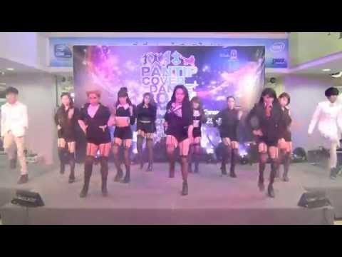 141004 Chocolee cover Nine Muses - News + Dolls + Figaro @Pantip Cover Dance 2014 (Final)