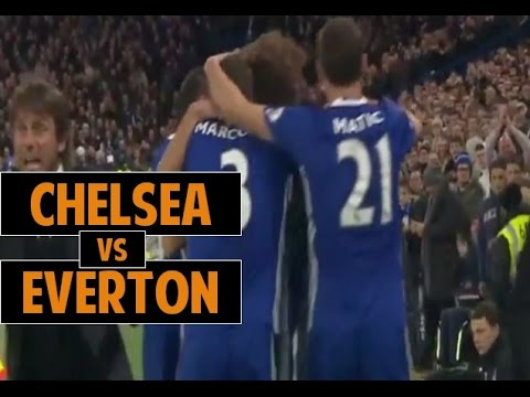Chelsea vs Everton 5-0 All Goals and Highlights HD ● EPL 16/17 ● 6/11/2016