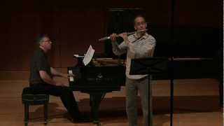 Marc Mellits - 11 Pieces for Flute and Piano. Paolo Bortolussi flute, Corey Hamm piano