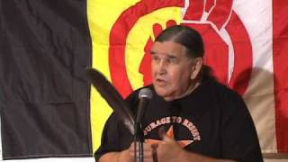 Clyde Bellecourt speaks at the 2009 AIM Fall Conference (pt 6 of 6)