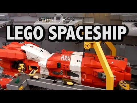 LEGO Dystopia Planitia Space Shipyards | Brickfete Toronto 2016