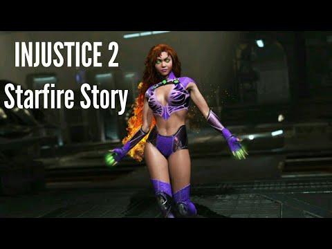INJUSTICE 2 MULTIVERSE MODE Gameplay German - Starfire Story