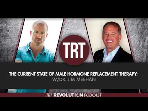 The Current State of Male Hormone Replacement Therapy w/Jim Meehan