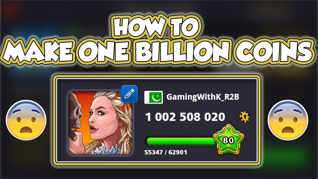 8 ball pool 1 billion coins link