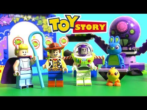 Toy Story 4 Lego 10770 Buzz And Woody Carnival Mania Toys Review