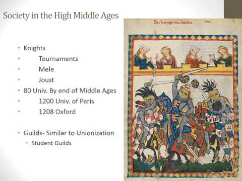 Major Events in the Middle Ages