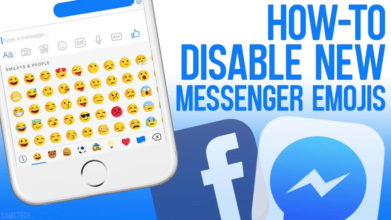 How To Disable New Messenger Emojis