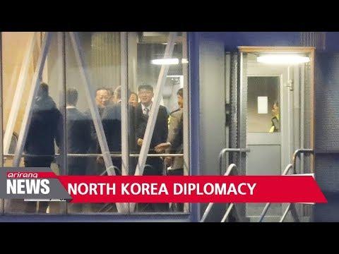 North Korean foreign minister arrives in Sweden amid speculation over U.S. talks