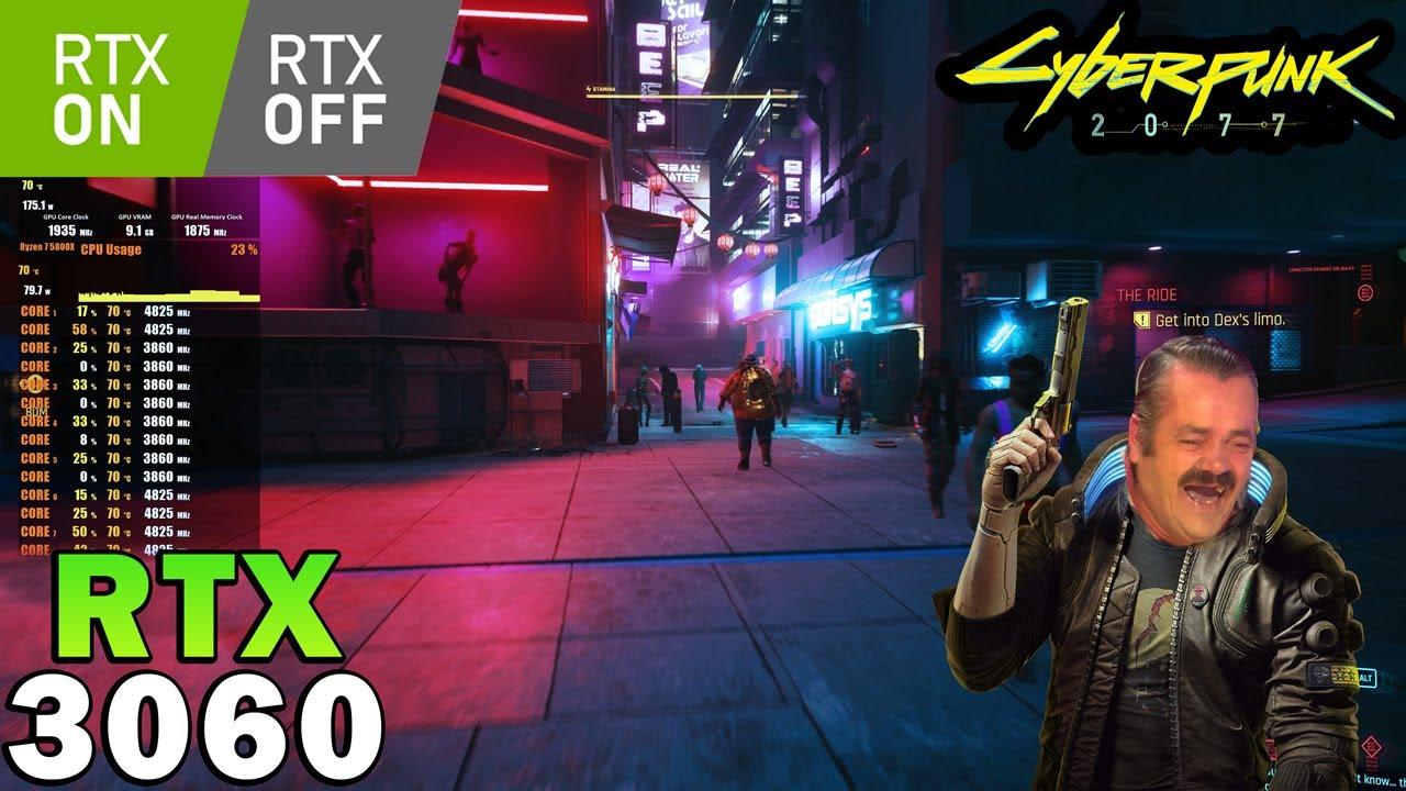 Cyberpunk 2077 | RTX 3060 | Ryzen 7 5800X | RTX ON/OFF | DLSS | 4K - 1440p - 1080p | Ultra Settings