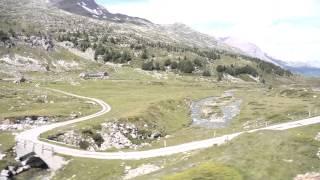 Mit der Rhätischen Bahn über den Bernina Pass