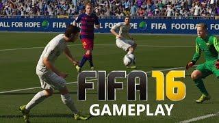 Fifa 16 Gameplay - REAL MADRID vs BARCELONA