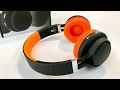 JS-BASE Wireless Bluetooth 4.0 Foldable Orange Over-ear Headphones review