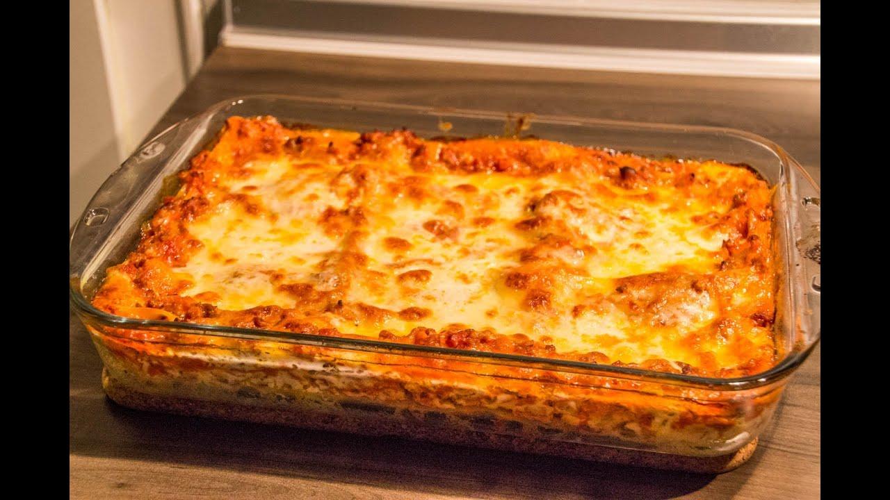 lasagne selbst gemacht einfach schnell und lecker schritt f r schritt rezept recipe. Black Bedroom Furniture Sets. Home Design Ideas