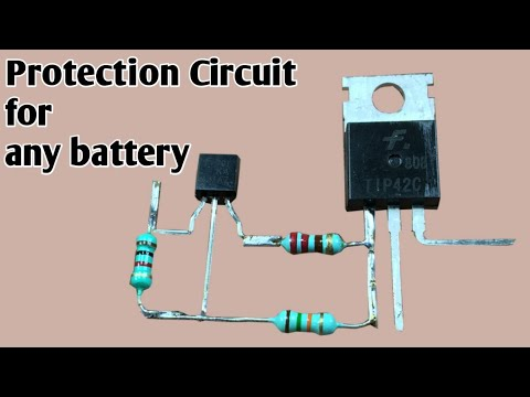 Battery low voltage cutoff circuit | Battery protection circuit | ALLPCB