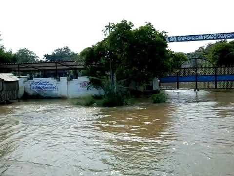 SRBC water in Banganapally
