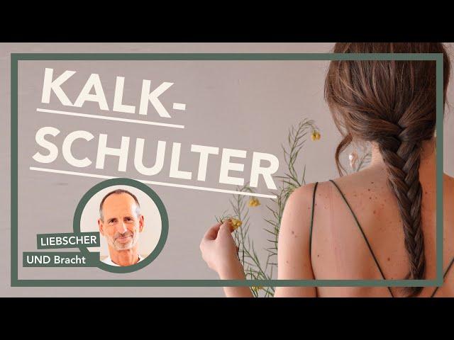 Kalkschulter |  Irrtümer & die effektivste Übung | Schulterschmerzen