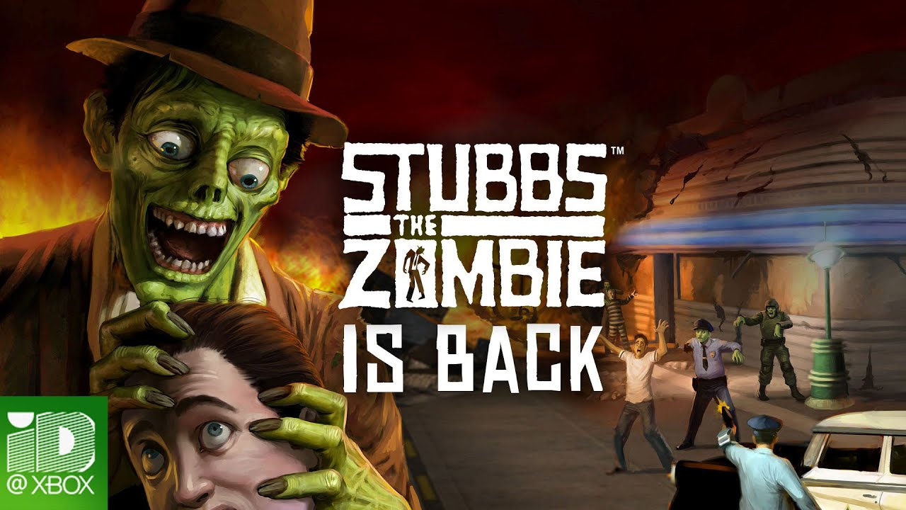 Stubbs the Zombie in Rebel Without a Pulse: Build your own zombie army in this title