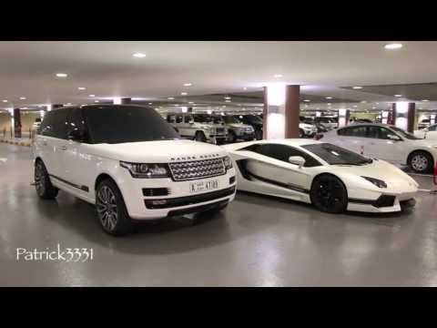 30 min. Carspotting at the Dubai Mall (41-46 cars) = Dubai has more cars in less...