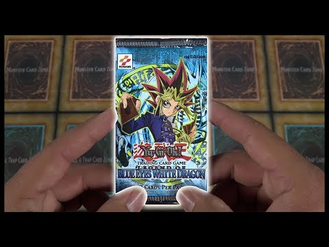 Opening the First YuGiOh TCG Pack Ever Made!