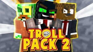 LET THE TROLLING BEGIN!?! | Troll Pack Modded Minecraft Season 2 #1
