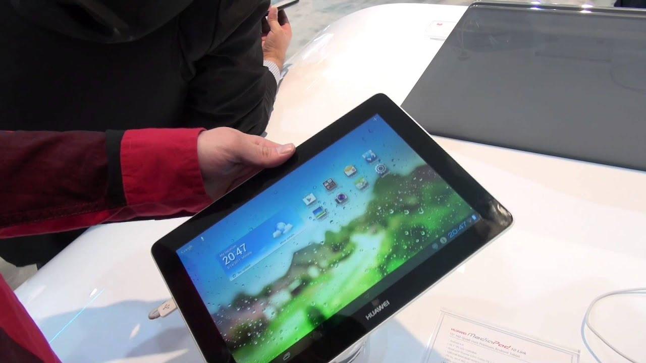 Huawei Media Pad 10 Link Hands On - Deutsch