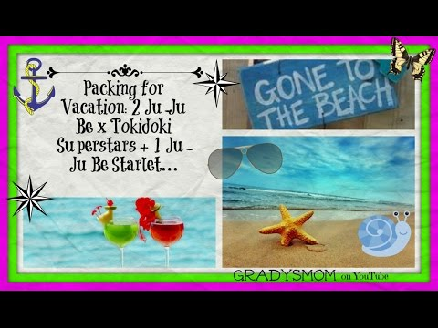Casual Style Packing Video for Vacation: Ju-Ju Be Superstar + Starlet