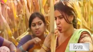 Adi unnoda vasam en mela vesum    Samantha & ram charen    love songs    beautiful scene