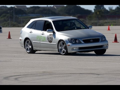 2002 lexus is300 sportcross at aas rd 5 at crows landing youtube