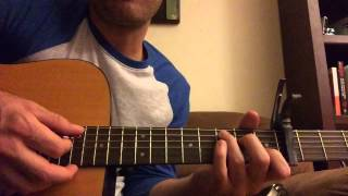 Live Oak - Jason Isbell Guitar Tutorial