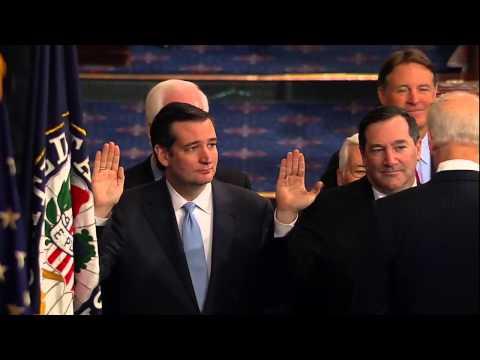 Swearing in of Senator Ted Cruz - 01/03/2013