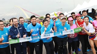 2018渣打台北公益馬拉松全紀錄