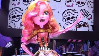 New Monster High dolls revealed at New York Toy Fair 2015 from Mattel