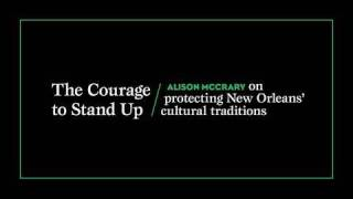 Alison McCrary: The Courage to Stand Up