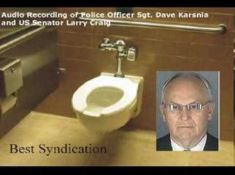 Senator Larry Craig Audio Recording After Arrest