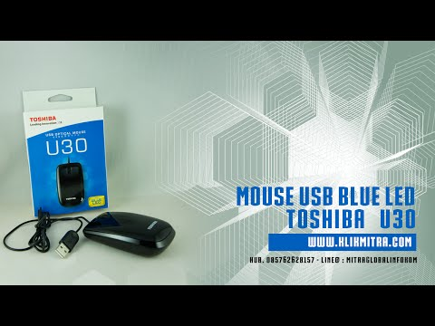 Mouse Toshiba U30 Blue LED