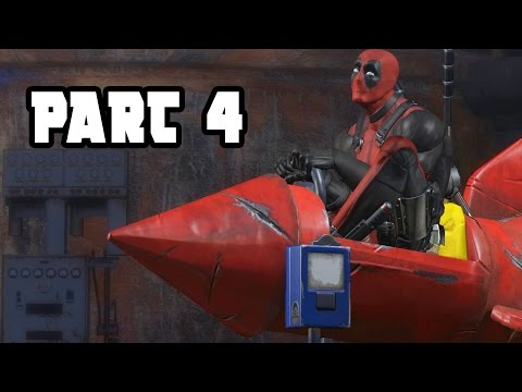 Deadpool Walkthrough Gameplay Part 4 - CABLE