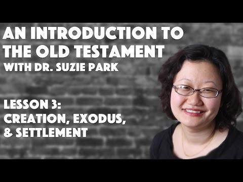 """Creation, Exodus, & Settlement"" 