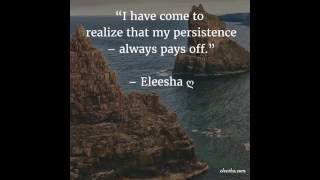 Persistence of Vision - Daily Inspiration, Quotes, Affirmations, Sayings for the Soul