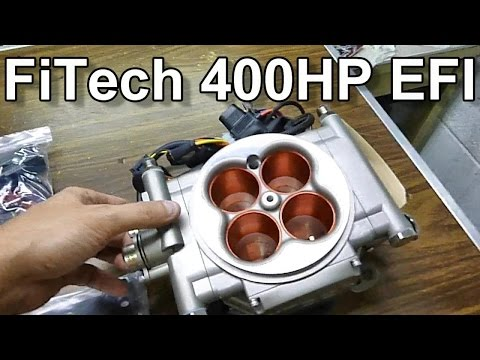 FiTech 400 HP EFI unboxing show all FTH-30003 Go Street ... on