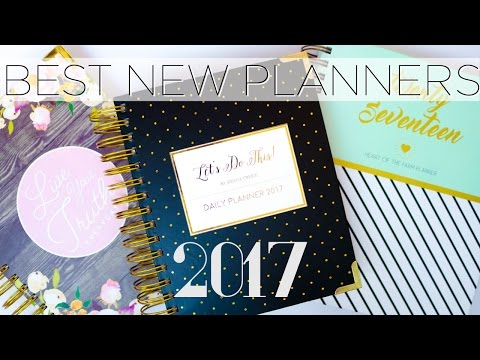 Top 5 New Planners for 2017