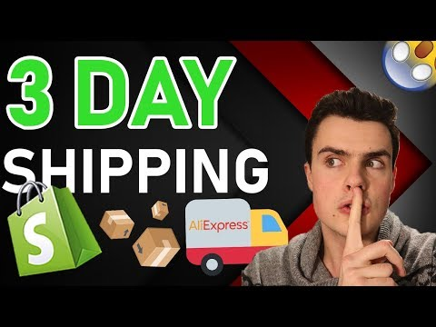 (REVEALED) HOW I'M DROPSHIPPING WITH 3 DAY SHIPPING??