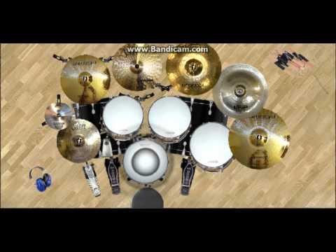 Nidji Kau Dan Aku Dany's Virtual drum 2 Cover